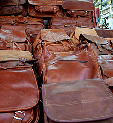 Real Leather Brown